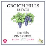 Grgich Hills Estate Zinfandel 2007 Napa Valley