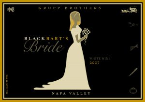 Krupp Brothers Black Bart's Bride 2007 Napa Valley Stagecoach hvidvin